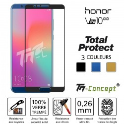 Huawei Honor View 10 - Vitre de Protection - Total Protect - TM Concept®