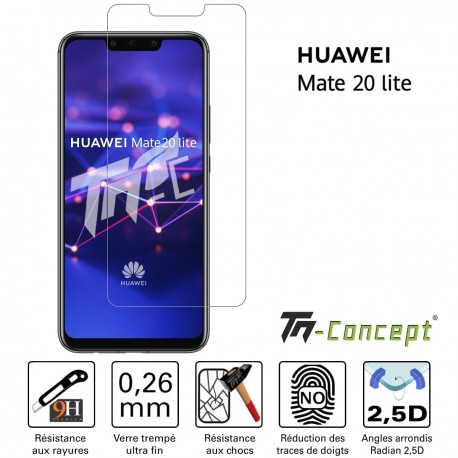 Huawei Mate 20 Lite - Verre trempé TM Concept® - Gamme Crystal