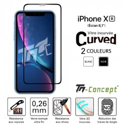 Apple iPhone XR - Verre trempé 3D Curved - TM Concept®