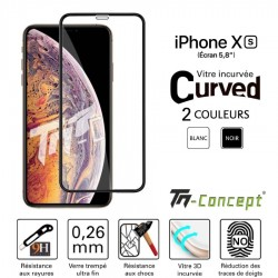 Apple iPhone XS - Verre-trempé 3D Curved - TM Concept®