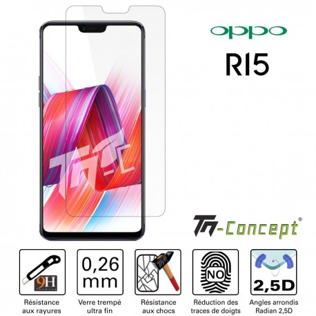Oppo R15 - Verre trempé TM Concept® - Gamme Crystal
