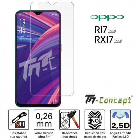 Oppo R17 Pro - Verre trempé TM Concept® - Gamme Crystal