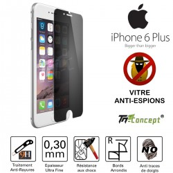 Apple iPhone 6 Plus / 6S Plus - Vitre de Protection Anti-Espions - TM Concept®