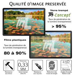Samsung Galaxy A9 (2018) - Verre trempé TM Concept® - Gamme Crystal