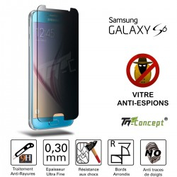 Samsung Galaxy S6 - Vitre de Protection Anti-Espions - TM Concept®