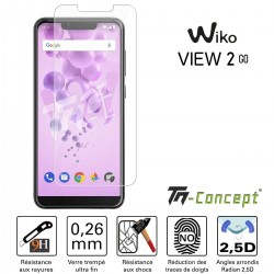 Wiko View 2 Go - Verre trempé TM Concept® - Gamme Crystal