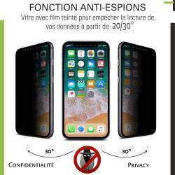 Samsung Galaxy A9 (2018) - Verre trempé Anti-Espions - TM Concept®