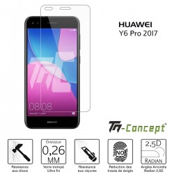 Huawei Y6 Pro 2017 - Verre trempé TM Concept® - Gamme Crystal