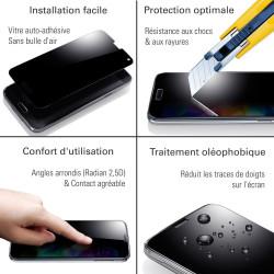 Motorola Moto C Plus - Verre trempé TM Concept® - Gamme Crystal