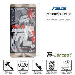 Asus Zenfone 3 Deluxe ZS570KL - Verre trempé TM Concept® - Gamme Crystal