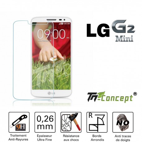 LG G2 Mini - Vitre de Protection Crystal - TM Concept®
