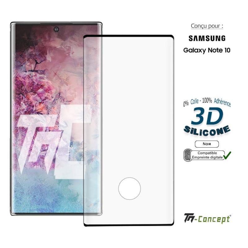 Apple iPhone 8 - Verre trempé intégral Protect - adhérence 100% nano-silicone - TM Concept®