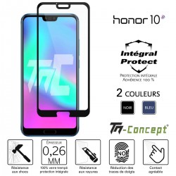 Huawei Honor 10 - Verre trempé intégral Protect - adhérence 100% nano-silicone - TM Concept®