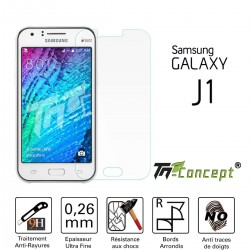 Samsung Galaxy J1 - Vitre de Protection Crystal - TM Concept®