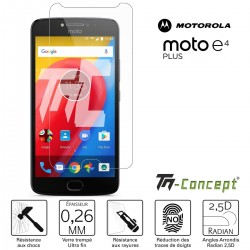 Motorola Moto E4 Plus - Verre trempé TM Concept® - Gamme Crystal