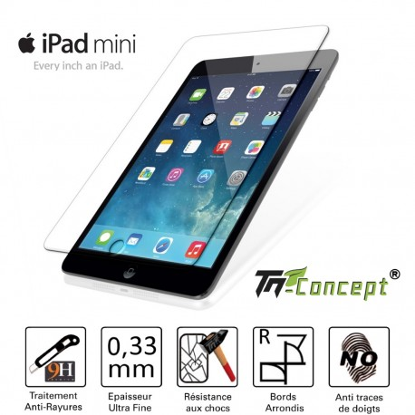 Ipad Mini - Vitre de Protection Tablette - TM Concept®