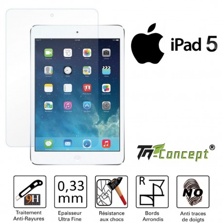 Ipad 5 - Vitre de Protection Tablette - TM Concept®