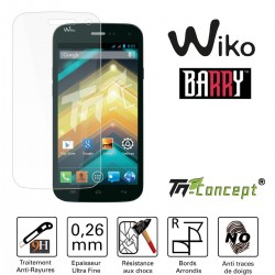 Wiko Barry - Vitre de Protection Crystal - TM Concept®