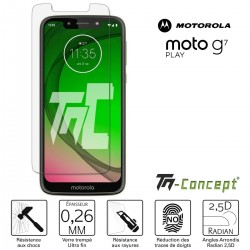 Motorola Moto G7 Play - Verre trempé TM Concept® - Gamme Crystal