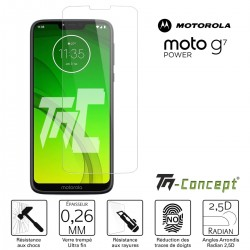 Motorola Moto G7 Power - Verre trempé TM Concept® - Gamme Crystal