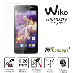 Wiko Highway Signs - Vitre de Protection Crystal - TM Concept®