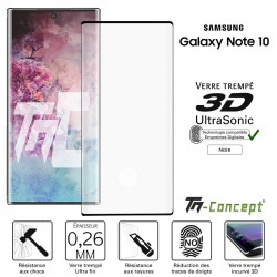 Samsung Galaxy Note 10 - Verre trempé 3D Curved - Ultrasonic - TM Concept®