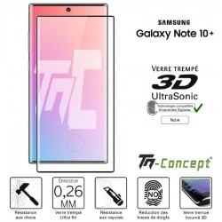 Samsung Galaxy Note 10+ Verre trempé 3D incurvé - UltraSonic - TM Concept®