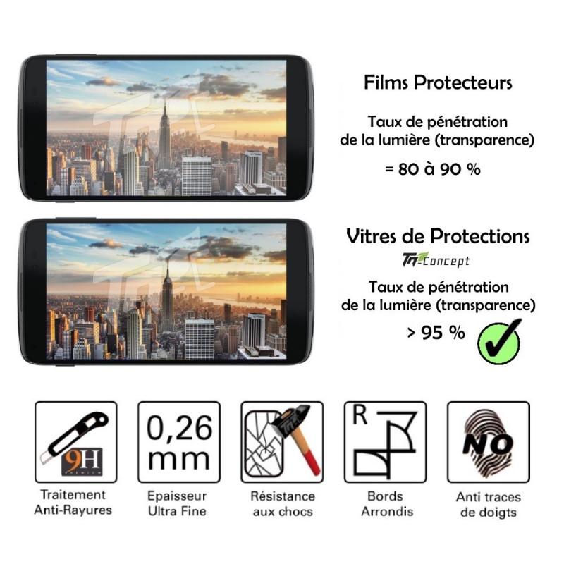 Wiko Lenny - Vitre de Protection Crystal - TM Concept®