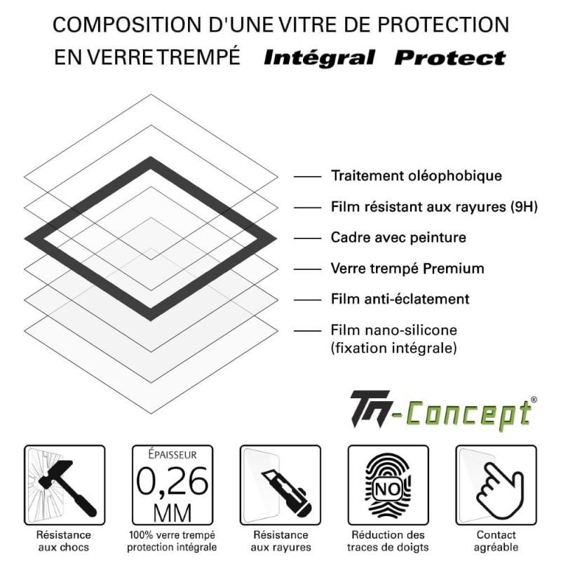 Apple iPhone XS - Verre trempé Anti-Espions - Intégral Privacy - TM Concept®