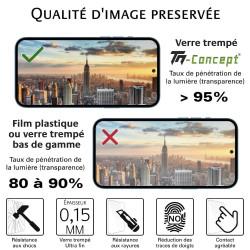 Nokia 1 - Verre trempé TM Concept® - Gamme Crystal