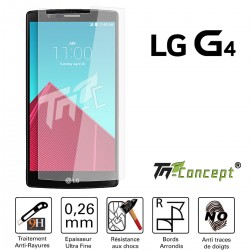 LG G4 - Vitre de Protection Crystal - TM Concept®