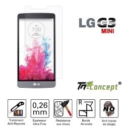LG G3 Mini - Vitre de Protection Crystal - TM Concept®