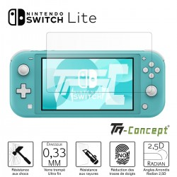 Nintendo Switch Lite - Verre trempé TM Concept®