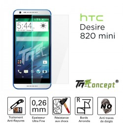 HTC Desire 820 Mini - Vitre de Protection Crystal - TM Concept®