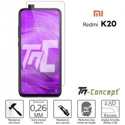 Xiaomi Redmi K20 / K20 Pro - Verre trempé TM Concept® - Gamme Crystal
