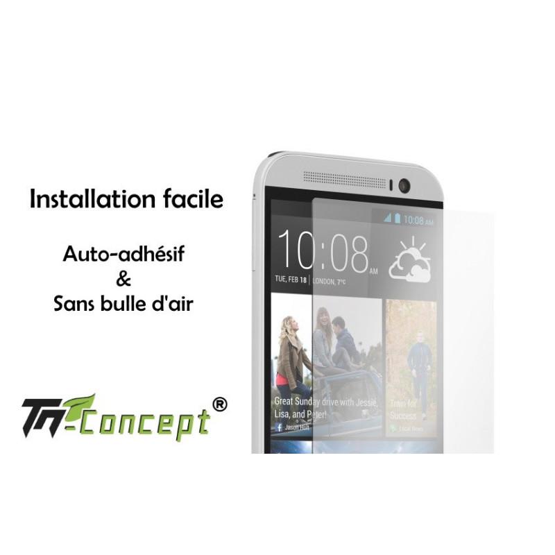 HTC Desire 626 - Vitre de Protection Crystal - TM Concept®