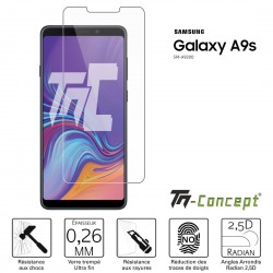 Samsung Galaxy A9s - Verre trempé TM Concept® - Gamme Crystal