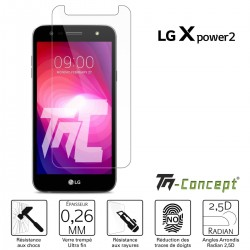 LG X Power 2 - Verre trempé TM Concept® - Gamme Crystal