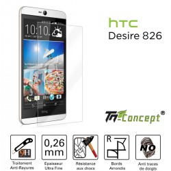 HTC Desire 826 - Vitre de Protection Crystal - TM Concept®