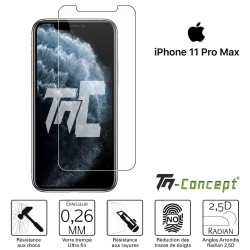 Apple iPhone 11 Pro Max - Verre trempé TM Concept® - Gamme Crystal