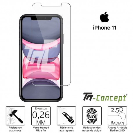 Apple iPhone 11 - Verre trempé TM Concept® - Gamme Crystal