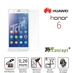 Huawei Honor 6 - Vitre de Protection Crystal - TM Concept®
