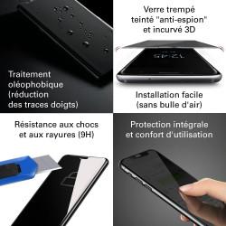 Samsung Galaxy A20 - Verre trempé Anti-Espions - Intégral Privacy - TM Concept®