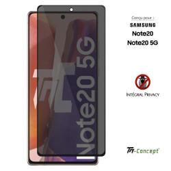 Samsung Galaxy A50 - Verre trempé Anti-Espions - Intégral Privacy - TM Concept®