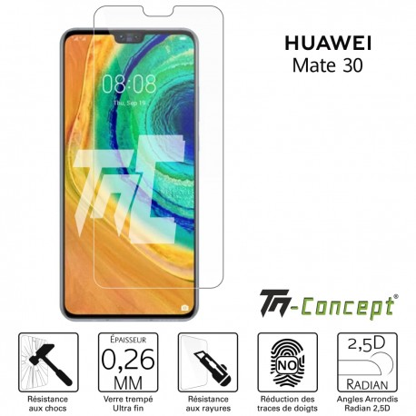 Huawei Mate 30 - Verre trempé TM Concept® - Gamme Crystal