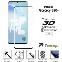 Samsung Galaxy S20 Plus - Verre trempé 3D UltraSonic - TM Concept®