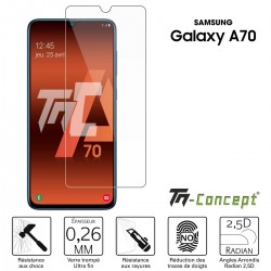 Samsung Galaxy A70 - Verre trempé TM Concept® - Gamme Crystal