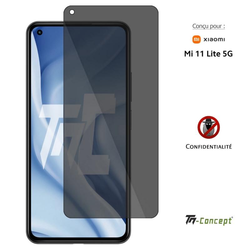 Samsung Galaxy A71 - Verre trempé intégral Protect Noir - adhérence 100% nano-silicone - TM Concept®