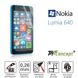 Nokia Lumia 640 - Vitre de Protection Crystal - TM Concept®