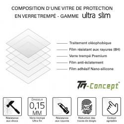 Samsung Galaxy S20 Ultra - Verre trempé 3D incurvé teinté anti-espion - TM Concept®